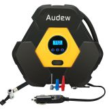 Portable Digital Air Compressor Pump, 12V 150 PSI Tire Pump for Car, Truck, Bicycle, RV and Other Inflatables