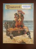 treasured chests volume one a gallery girls collection autograph/serialized art