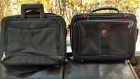 Two laptop bags, Dell and Swiss Army, like new