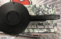 For Sale: Glock 9mm 50 round drum mag