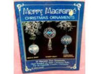 Vintage Merry Macrame Christmas Ornaments Pattern Booklet 23