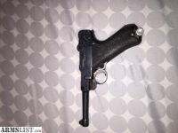 For Sale: 1915 Luger