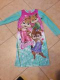 Girls 10/12 Chipettes flannel night gown
