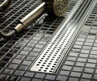 Linear Shower Drain - QuARTz Plus by Aco
