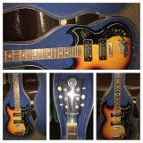 K ELECTRIC GUITAR WITH CASE