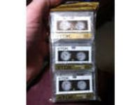TDK 3 Pack Microcassette MC60 Dictation Mini Audio Cassette