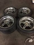 corvette tires and rims
