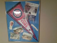 Chicago Cubs 1990's Scorecard and 1980's Photos of Wrigley Field