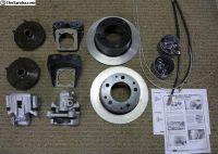 CB Performance rear disc brake kit w/parking brake