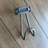 NEW without box Target Threshold brand heavy duty gunmetal finish hook with label slot- 5 tall 2 1/2 wide paid $8