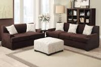2 Piece Sofa and Loveseat Set- $799 (includes Pillows and Ottoman)