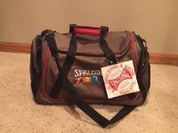 Spalding Duffel / Gym Bag - NEW With Tags