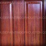 garage door wood faux treatments