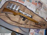 For Sale: MARLIN CAMP CARBINE NICKEL 9 9mm SEMI AUTO RIFLE