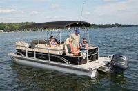 2017 SunChaser Classic Fish 8522 Cruise-N-Fish Pontoons Boats Lagrange, GA