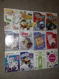 12 Assorted Wii Games