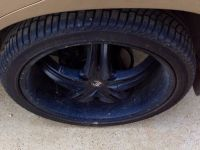 22S RIMS WITH TIRES NEW