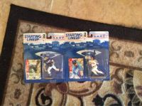 MIKE PIAZZA  HIDEO NOMO ACTION FIGURES