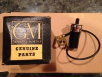 Sell NOS 1963-67 CORVETTE GLOVEBOX LIGHT SWITCH ASSEM 427 L72 L36 327 FUEL INJECTION motorcycle in Cheshire, Connecticut, United States