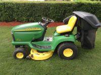 2005 John Deere LT180 Lawn Tractors Lawn Mowers Hutchinson, MN