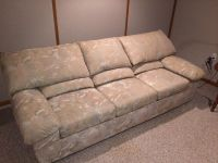 Sleeper Queen Size couch with folding bed