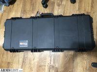 """For Sale: Pelican Storm iM3100 Single M4 Rifle & M9 Pistol Case 40"""" Black AR15"""