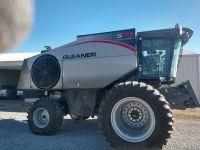 2014 AGCO Gleaner S78 Combine and Geringhoff Cornhead for sale in Aurora, NE.