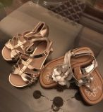 Gold/Silver Sandals