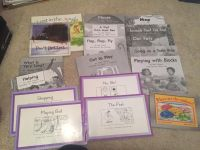 18 early reader books level C and D
