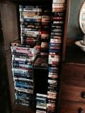 VHS for sale 100 tapes (Wylie)