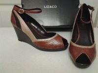 NEW - LIZ&CO Brown Multi Wedge Size 9 1/2