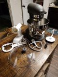 Great kitchen aide mixer: grey color