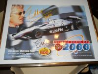Autographed Poster of Eddie Cheever