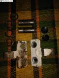 Early Bay VW Bus Front Door Hinges and Pin