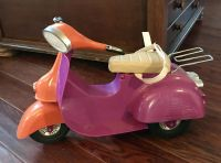 18 doll scooter great condition $10 (x-posted)