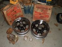 RARE NOS NEW keystone klassic Mag wheels UN-LUG GM MOPAR FORD AMC 14X6 BACK SPACE 3 INCH HOT ROD