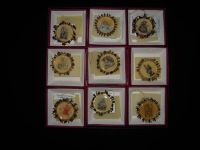 "Goebel Hummel ""Gold Christmas Ornament Collection"" Complete Set of 36"