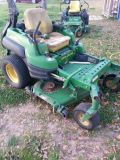 john deere z820 zero turn mower