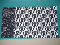 Black and White Cat/Dog Placemats