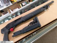 "For Sale: NEW CHIAPPA C6 PUMP SHOTGUN 12GA. 18.5"" REM CHOKE 3"" ADJ STOCK"