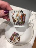 Tea cup and saucer from Japan