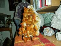 Beautiful Huge Citrine Cluster Super Extra Gemstone Qual