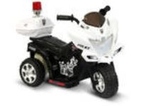 Childrens Toddler Ride on 6V Police Power Wheel Motorcycle
