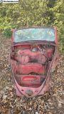 1963 VW Convertible Beetle Front Clip L TN
