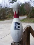 Used Bowling Pins for targets
