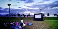 Inflatable Outdoor Movie Theater Services