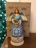 Jim Shore musical figurine with original box - Play the Song in Your Heart