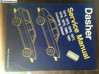 Bentley repair manual 74-81 Dasher inc. Diesel