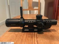 For Sale: Bushnell FFP AR 1-4 Scope with Burris Mount