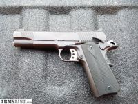 For Sale: KIMBER 1911 CUSTOM II FRAME / PLOYMER CUMSTOM SLIDE -- .45 ACP / NO RAIL / 5""